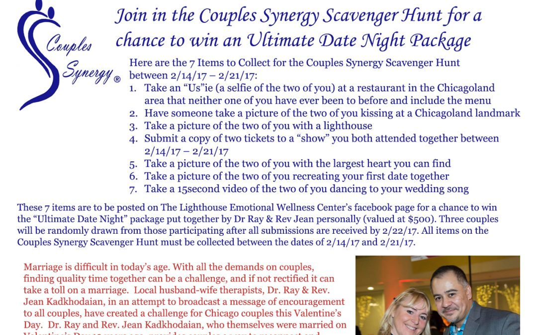 Couples Synergy Scavenger Hunt