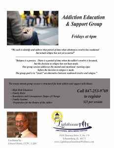 Addiction Education and Support Group